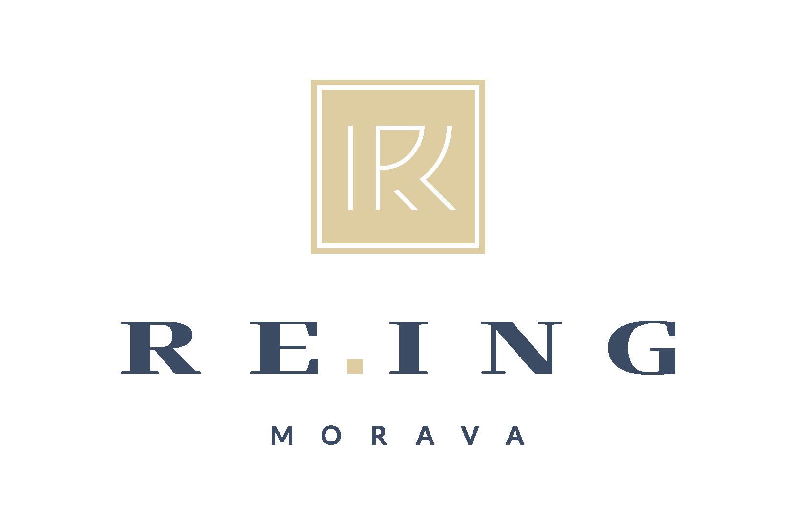 logo firmy RE.ING MORAVA-realitní kancelář