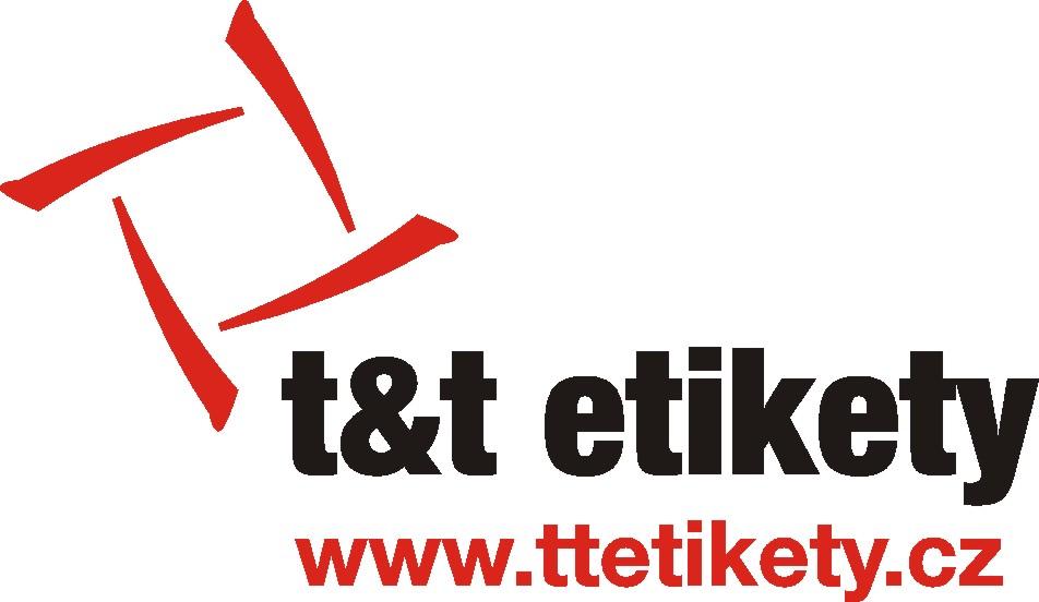 logo firmy T + T etikety s.r.o.