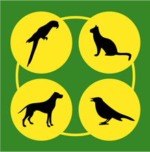 logo firmy Klece a voliéry