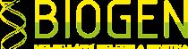 logo firmy BIOGEN PRAHA