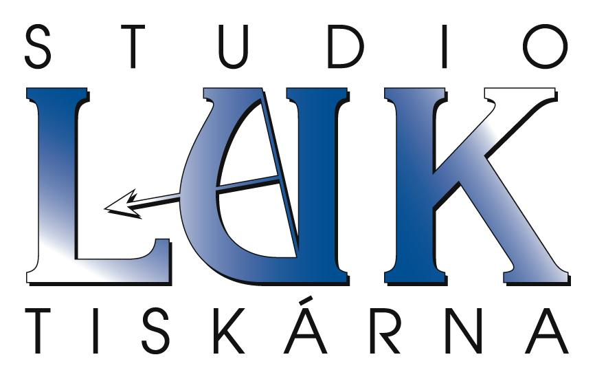 logo firmy Studio a tiskárna LUK
