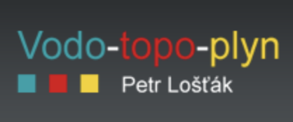 logo firmy Petr Lošťák VODA-TOPENÍ-PLYN