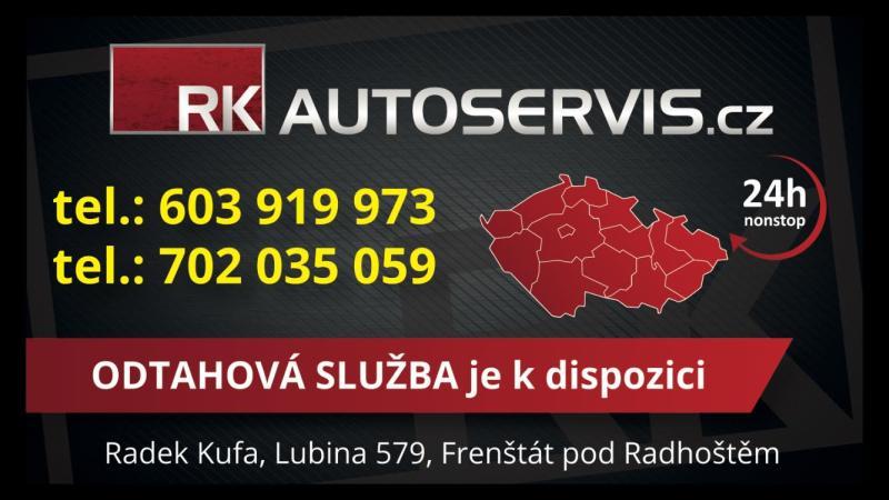 logo firmy RK Autoservis