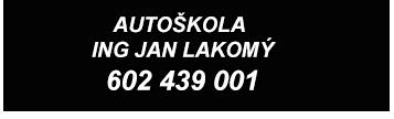 logo firmy Jan Lakomý Ing. - Autoškola