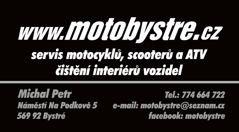 logo firmy Michal Petr - Motobystré