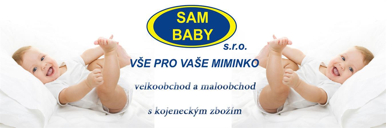 logo firmy SAM BABY s.r.o.
