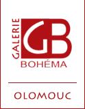 logo firmy GALERIE BOHÉMA