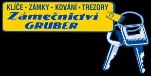 logo firmy Zámeènictví GRUBER