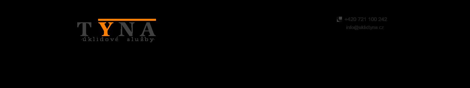 logo firmy TYNA - úklidové služby