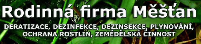 logo firmy MĚŠŤAN BOHUMIL Ing.-DERATIZACE