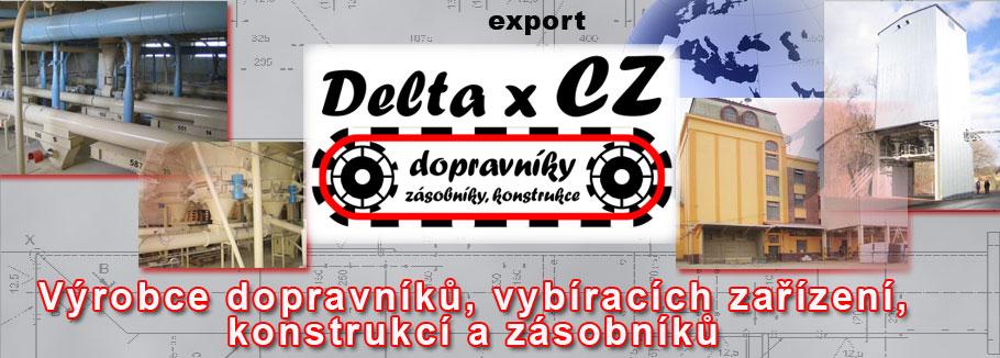 logo firmy DELTA X CZ s.r.o.