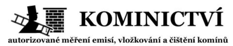 logo firmy PILZ KOMINICTVÍ