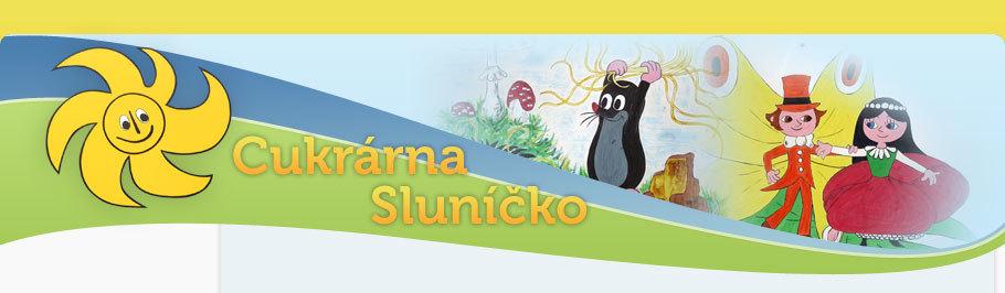 logo firmy SLUNÍČKO CUKRÁRNA