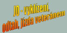 logo firmy JO-vyklízení, odtah, jízda veteránem - Jiří Odvářka