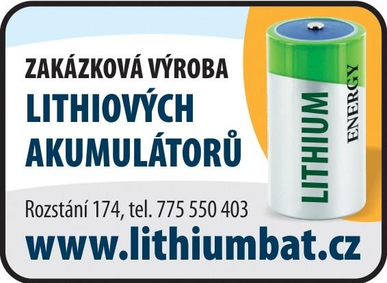 logo firmy Zakázková výroba lithiových akumulátorů