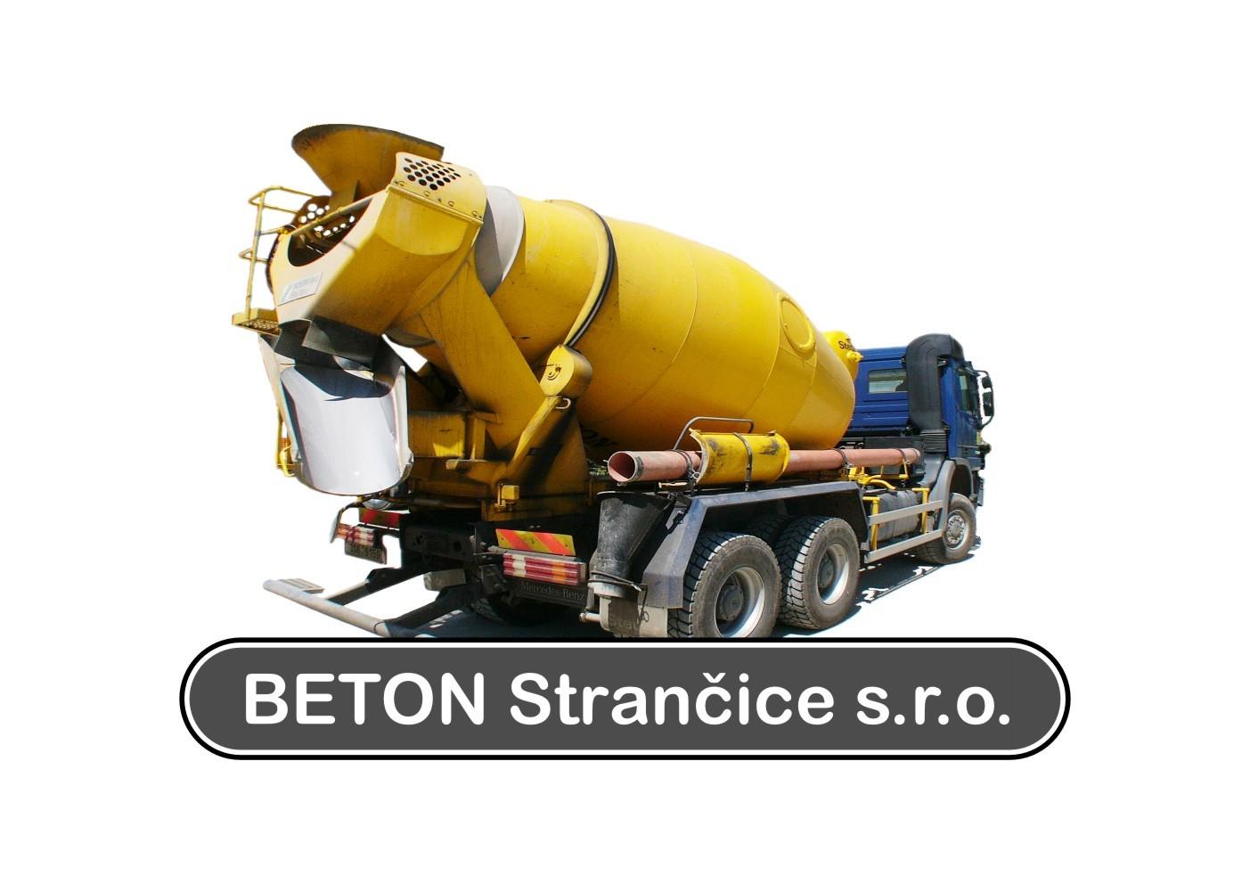 logo firmy BETON Stranèice s.r.o.