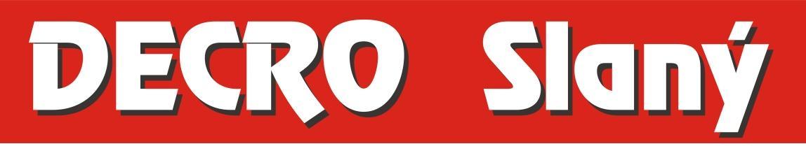 logo firmy Zakázková kancelář DECRO Slaný