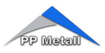 logo firmy PP METALL s.r.o.