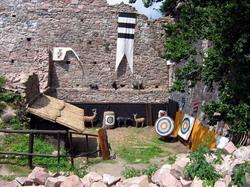 logo firmy Lovecká střelnice na hradě Litice