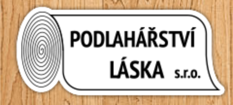 logo firmy Podlahářství Láska s.r.o.