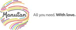 logo firmy MANUTAN s.r.o.