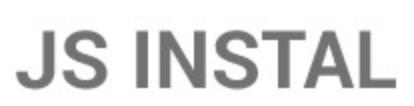 logo firmy J.S. INSTAL - topení, voda, plyn