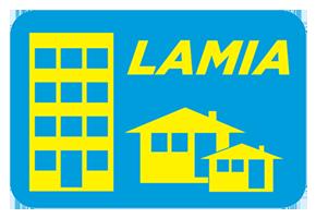 logo firmy LAMIA – správa nemovitostí