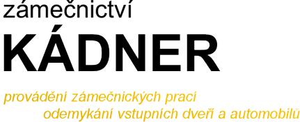 logo firmy Zámečnictví - Kádner Vladimír