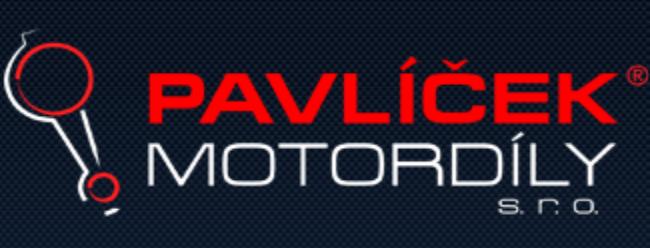 logo firmy PAVLÍČEK MOTORDÍLY