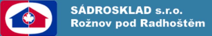 logo firmy SÁDROSKLAD