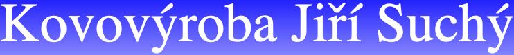 logo firmy KOVOVÝROBA SUCHÝ