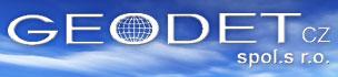 logo firmy GEODET CZ, s.r.o.