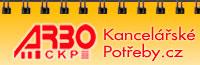 logo firmy ARBO CKP - kancelářské potřeby s.r.o.