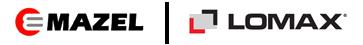 logo firmy MAZEL s.r.o. Lomax - Vzorková prodejna Žďár nad Sázavou