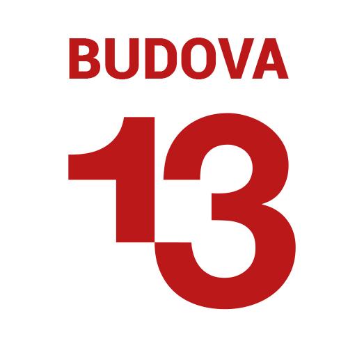 logo firmy BUDOVA 13
