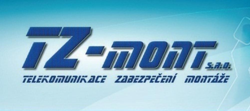 logo firmy TZ-MONT - provozovna