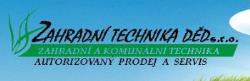 logo firmy Zahradní Technika DĚD, s.r.o.