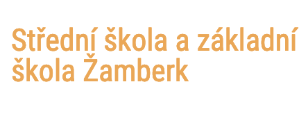 logo firmy Střední škola a základní škola Žamberk