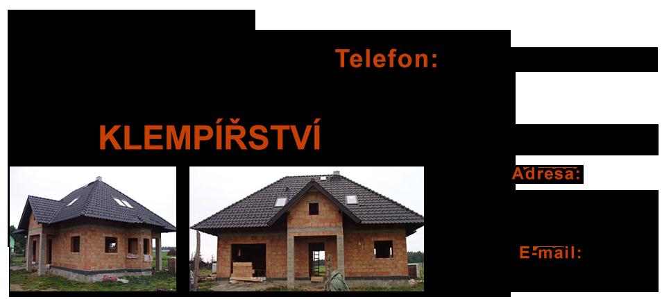 logo firmy KLEMPÍŘSTVÍ MLADÁ BOLESLAV - PETR ULMAN