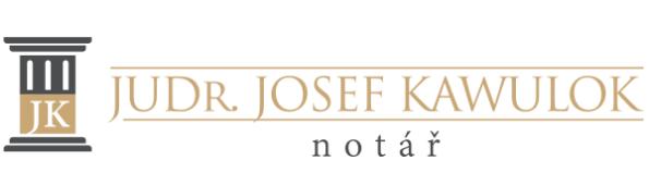 logo firmy  Notář JUDr. Josef Kawulok