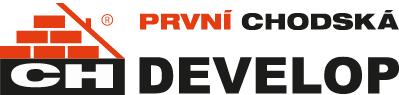 logo firmy První chodská develop, a.s.
