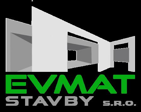logo firmy EVMAT stavby s.r.o.