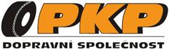 logo firmy PKP dopravní společnost s r. o.