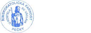 logo firmy ŘÍMSKOKATOLICKÁ FARNOST PEČKY