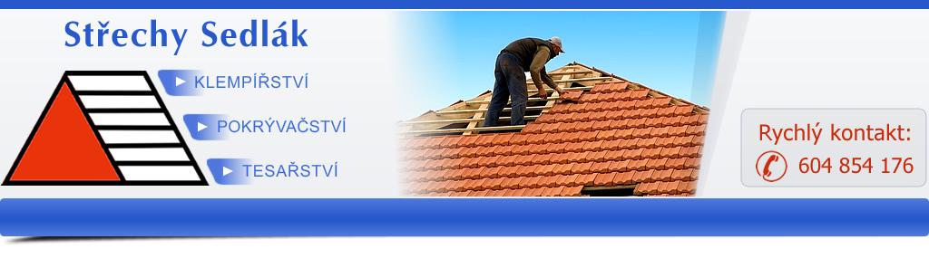 logo firmy Střechy Sedlák