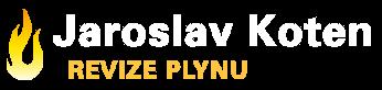 logo firmy JAROSLAV KOTEN - REVIZE PLYNU