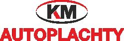 logo firmy AUTOPLACHTY KM, s. r. o.