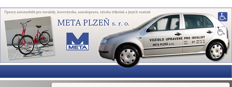 logo firmy META PLZEŇ