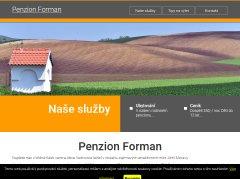 logo firmy Penzion Forman