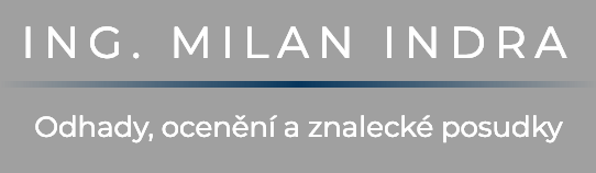 logo firmy Ing. Milan Indra - Odhadce